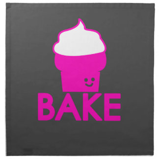 Bake - Cupcake Design Napkin