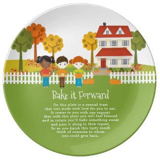 Bake it Forward Friendsgiving Thanksgiving Feast Plate