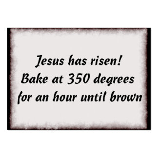 Bake Me A Jesus Business Card Template