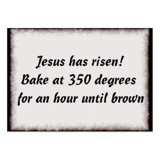 Bake Me A Jesus Large Business Card