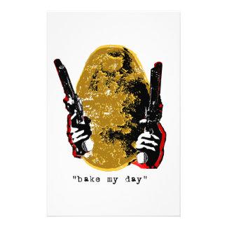 bake my day-gold stationery