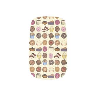 Bake Sale Cookie Cake Pie Donut Brownie Muffin Minx Nail Art