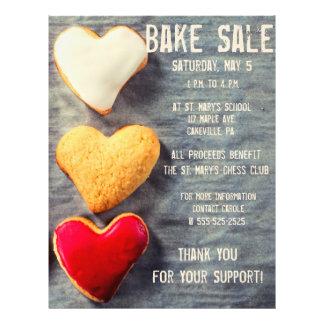 Bake Sale Fundraiser Flyer Modern Style Cookies
