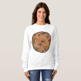 Bake Sale Rainbow Chocolate Chip Cookie Foodie Sweatshirt
