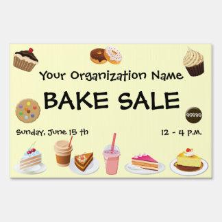 Bake Sale Yard Sign