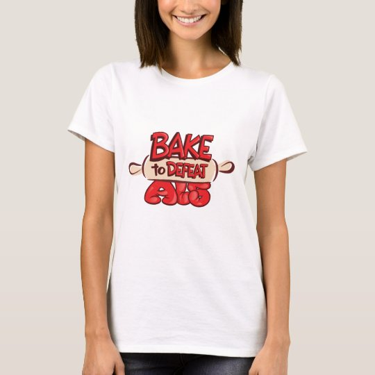 Bake to Defeat ALS Rolling Pin T-Shirt