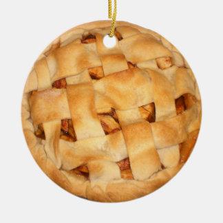 Baked Apple Pie Ceramic Ornament