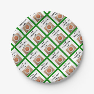 baked beans 7 inch paper plate