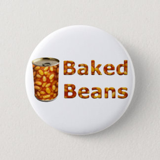 Baked Beans Can 2 Inch Round Button