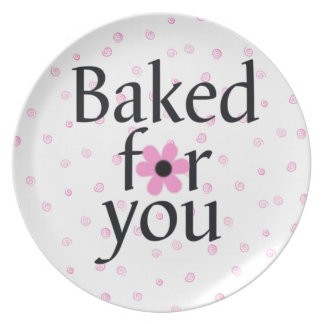 Baked for you Sweets Plate
