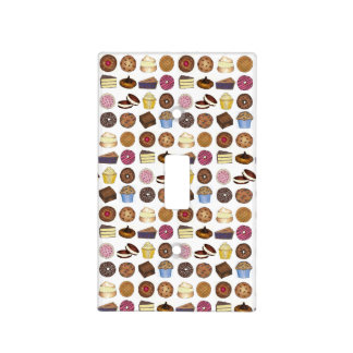Baked Goods Doughnut Pie Cupcake Brownie Foodie Light Switch Cover