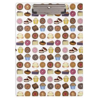 Baked Goods Foodie Muffin Cake Whoopie Pie Cupcake Clipboard