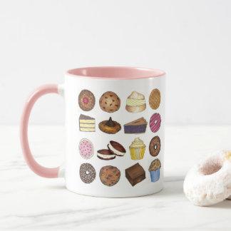 Baked Goods Foodie Muffin Cake Whoopie Pie Cupcake Mug