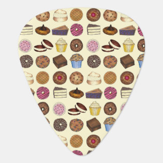 Baked Goods Foodie Muffin Cake Whoopie Pie Dessert Guitar Pick