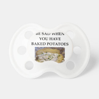 BAKED POTATO BABY PACIFIER