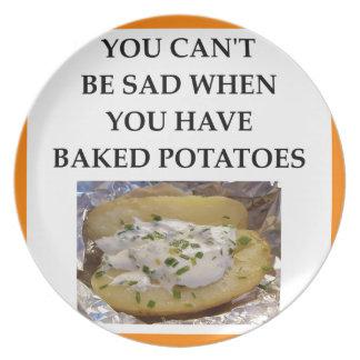 BAKED POTATO PLATE