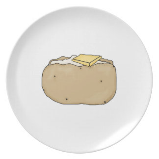 Baked potato plate! party plates