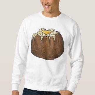 Baked Potato w/ Pat of Butter Foodie Sweatshirt