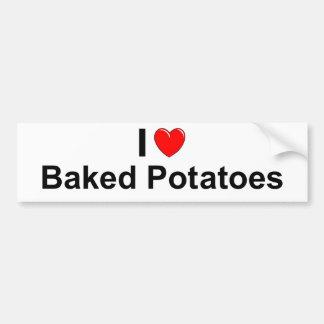 Baked Potatoes Bumper Sticker