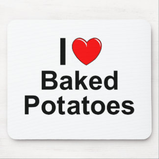 Baked Potatoes Mouse Pad