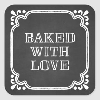 Baked with Love | Holiday Baked Goods Stickers