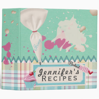 Baked With ♥ Recipe Binder