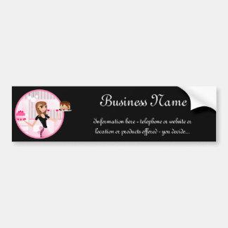 Baker/Bakery/Pastry Chef Bumper Sticker