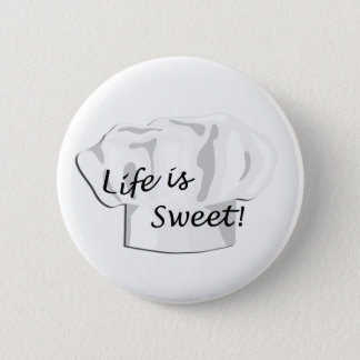 Baker Bakery Pastry Chef Button