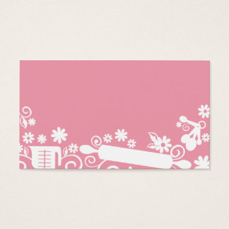 Baker baking utensils business card 2