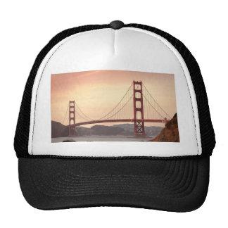 Baker beach holiday trucker hat