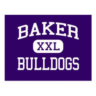 Baker - Bulldogs - Senior - Baker City Oregon Postcard