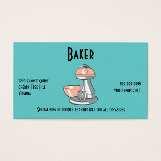 Baker Business Card