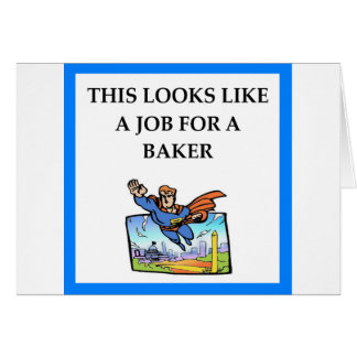 BAKER CARD