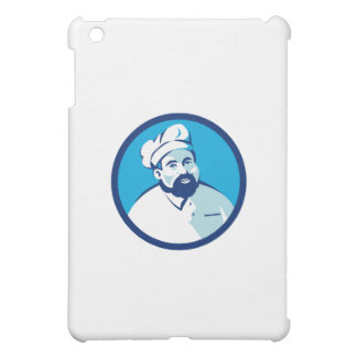 Baker Chef Cook Bearded Circle Retro iPad Mini Covers