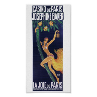 Baker de Joséphine par le cabaret du casino De Poster