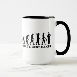 Baker du monde d'évolution meilleur