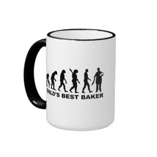 Baker du monde d'évolution meilleur mug ringer