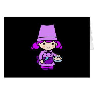 Baker girl 2 card