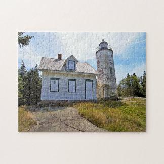 Baker Island Lighthouse, Maine Jigsaw Puzzle