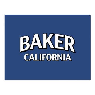 Baker la Californie Carte Postale