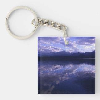 Baker Lake Sunrise Keychain