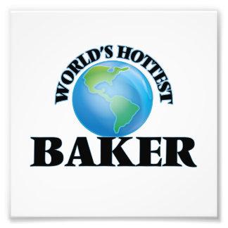 Baker le plus chaud du monde art photographique
