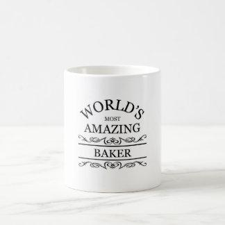 Baker le plus extraordinaire du monde mug blanc