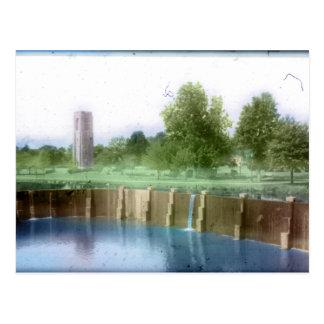 Baker Park, Frederick, MD Postcard