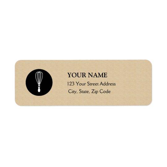 Baker Return Address Label