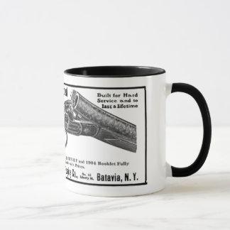 baker shotgun ad mug