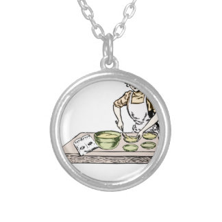 Baker Silver Plated Necklace