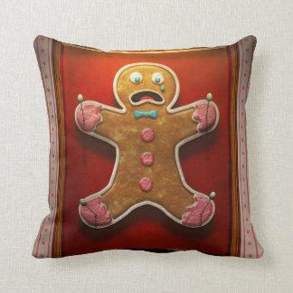 Baker - Specimen - Zingiber Homo erectus Throw Pillow