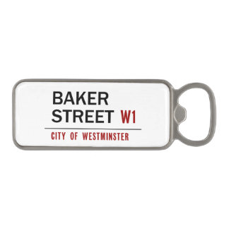 Baker Street Magnetic Bottle Opener