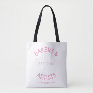 Bakers & Artists Tote Bag - Pink